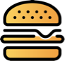 hamburger icon yellow