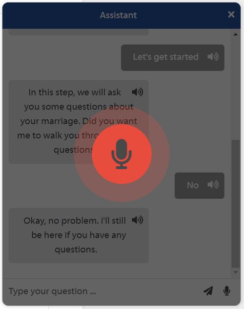 AI Chatbot speak icon