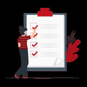 Illustration for a checklist