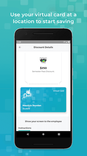 Google Play Store mockup of Deals App (details screen) which was built with Kotlin Multiplatform