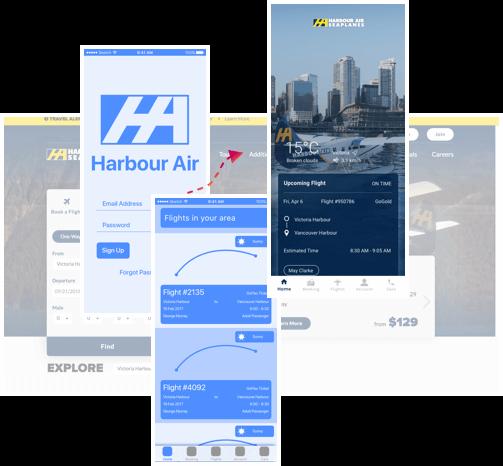 mobile app designs compilation